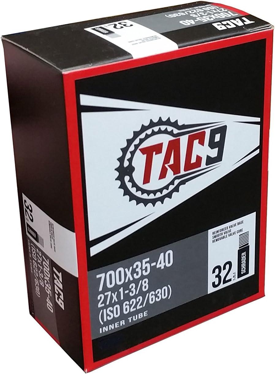 27*1 3//8 Bicycle Inner Tube Butyl Rubber Bike Tire Tyre Kit For Schrader Valve