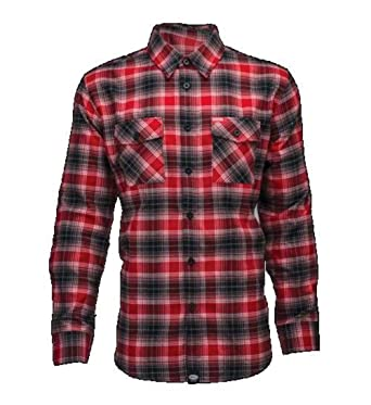 fb722c7e2 Bell Men's Dixxon Flannel Button Up Long-Sleeve Shirts, 2X-Large, Red at  Amazon Men's Clothing store: