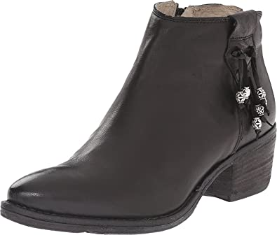 Women's Gilberta Leather Ankle Boot Black 42 M EU/11 M US