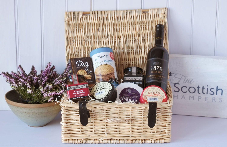 Scottish cheese and wine hamper amazon grocery negle Choice Image