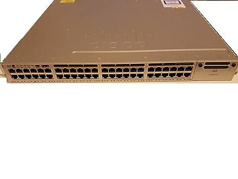 Amazon com: Cisco Catalyst 3850-48P-E - Switch - L3