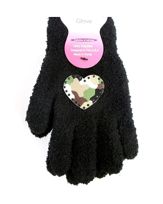 Confetti G16 Camo Heart Cozy Gloves