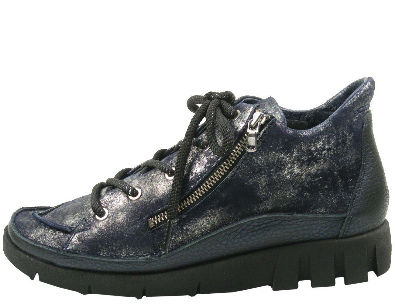 Softwaves 7-01-15 Zapatillas de Cuero para Mujer 40 EU|Blau