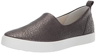 cf0377a6 ECCO Women's Gillian Low-Top Sneakers, (Black Stone Metallic 51380), 8 UK