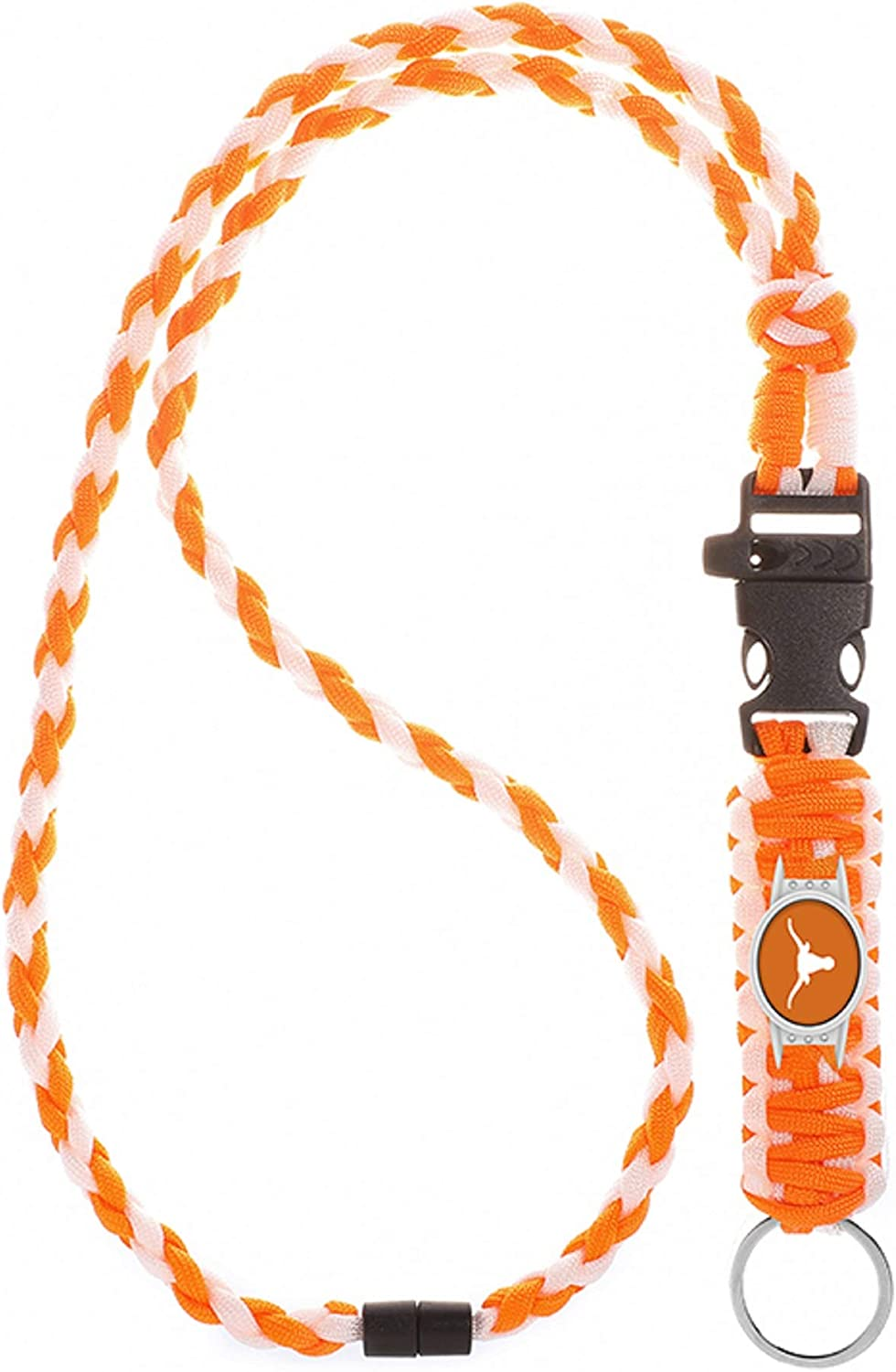 Neck Clasp Swamp Fox New York Giants Paracord Lanyard with Team Charm and Keychain Release