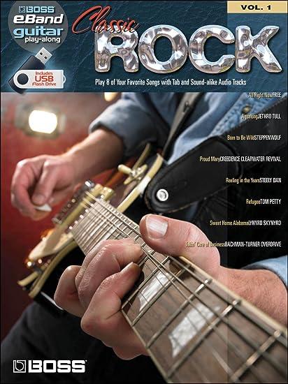 Boss eBand Guitar Play-Along Volume 1: Classic Rock. Partituras ...