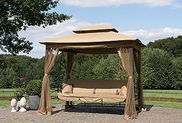 Hollywoodschaukel mit pavillon  Hollywoodschaukel Mit Bettfunktion Und Insektenschutz | ambiznes.com