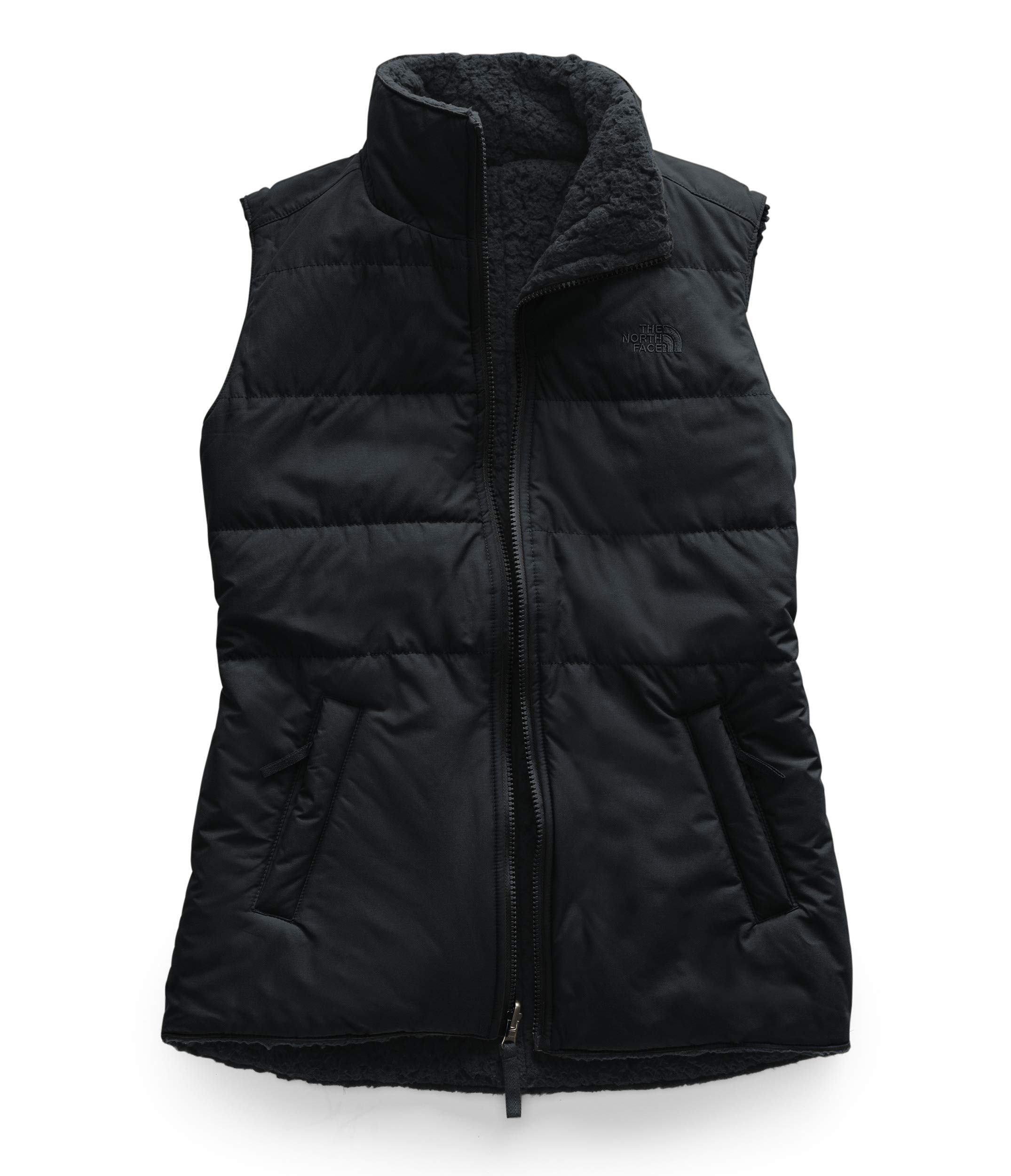 The North Face Women's Merriewood Reversible Vest, TNF Black, L by The North Face