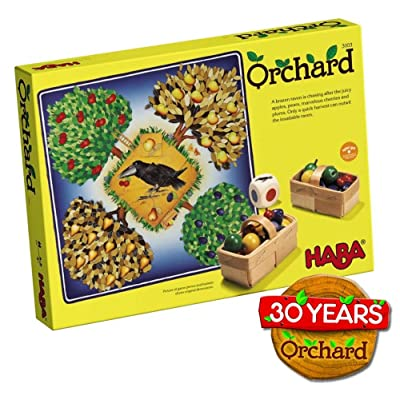 HABA Orchard Game - A Classic Cooperative Introduction to Board Games for Ages 3 and Up (Made in Germany): Toys & Games