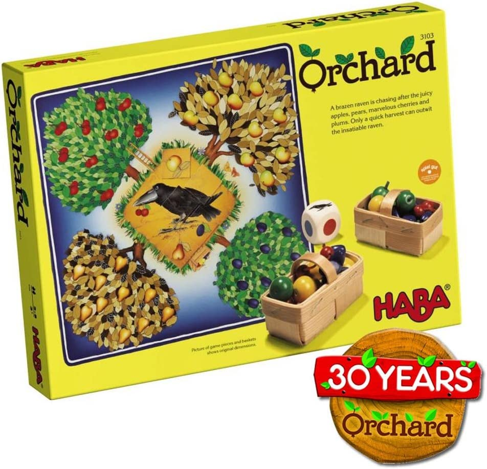 HABA Orchard Game - A Cooperative Game for Ages 3 and Up (Made in Germany) by HABA: Amazon.es: Juguetes y juegos