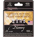 Benjamin 22BHPA Discovery Ultimate Hunting Pellet Assortment, 400-Count