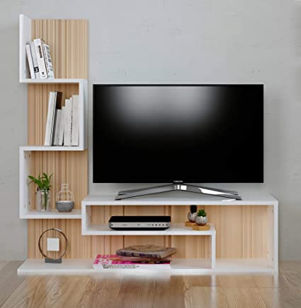 Mimosa Wall Unit Tv Lowboard Tv Stand Living Room Furniture