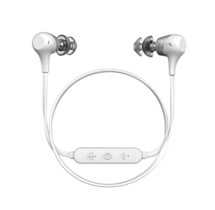 Optoma Nuforce BE 2 - Auriculares intrauriculares inalámbricos con Bluetooth, Color Blanco