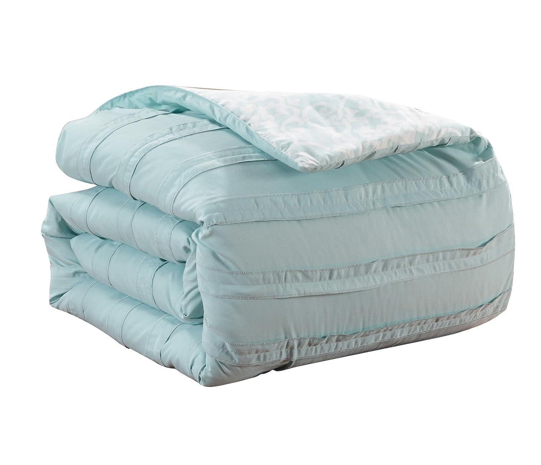 Chic Home 10 Piece Lea Bedding Set King Beige CS2419-AN