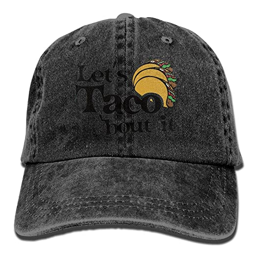 Let s Taco Bout It Adult New Style COWBOY HAT at Amazon Men s ... 27e1ac8ab15