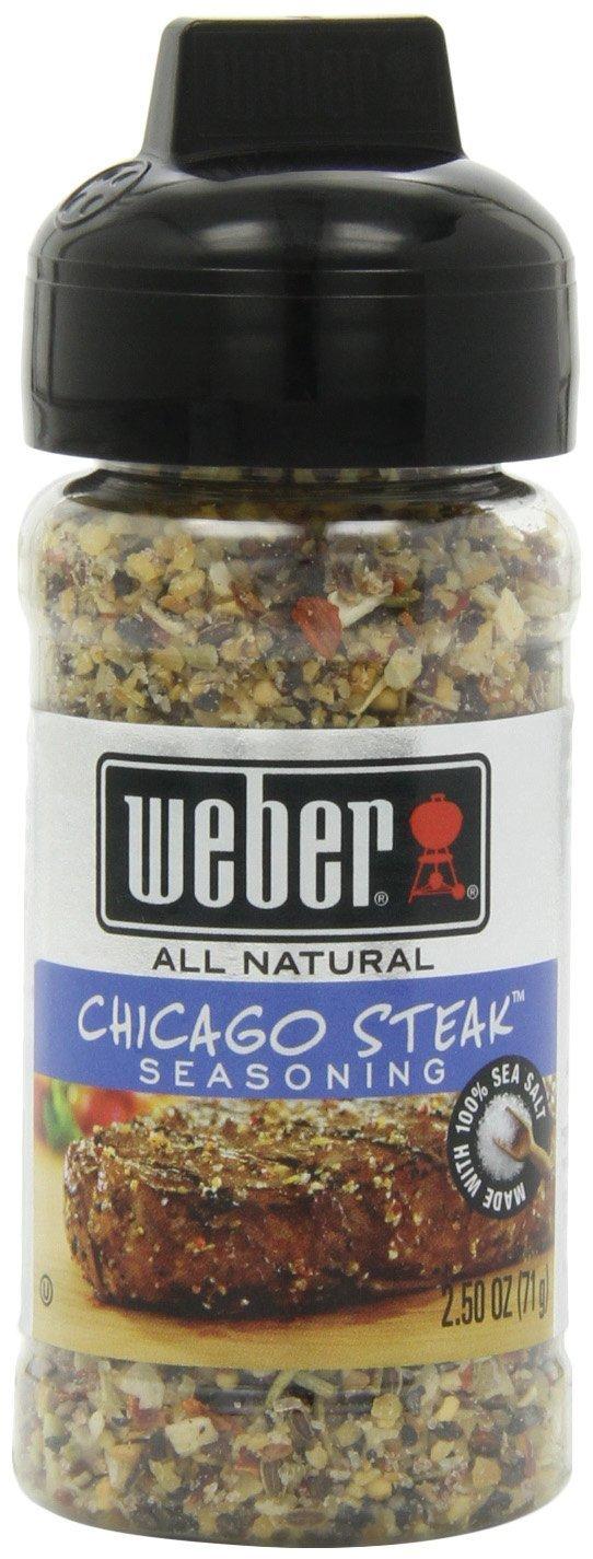 Weber Chicago Steak Seasoning 2.5 Ounce (Pack of 3) (1)