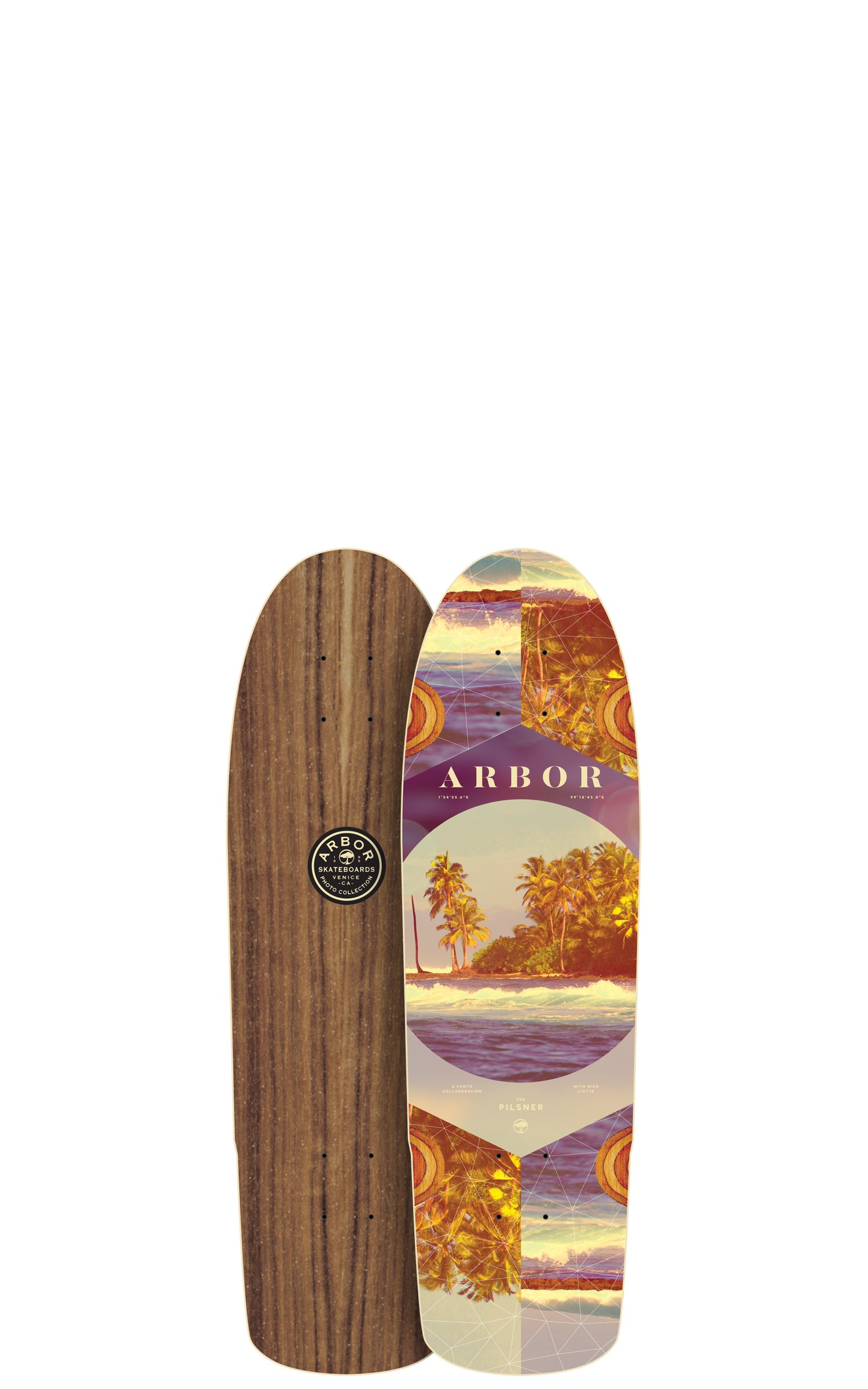Fireball x Arbor Longboard Cruiser Downhill Skateboards - Various Models - Deck & Completes