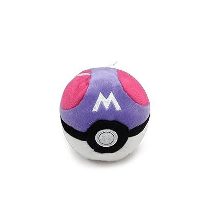 Amazon Com Pokemon Poke Ball Plush Master Ball Toys Games
