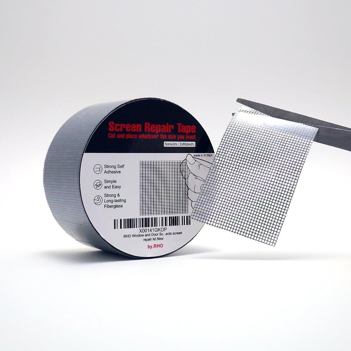 by.RHO Mosquitera Reparación de cinta adhesiva.: Amazon.es: Bricolaje y herramientas