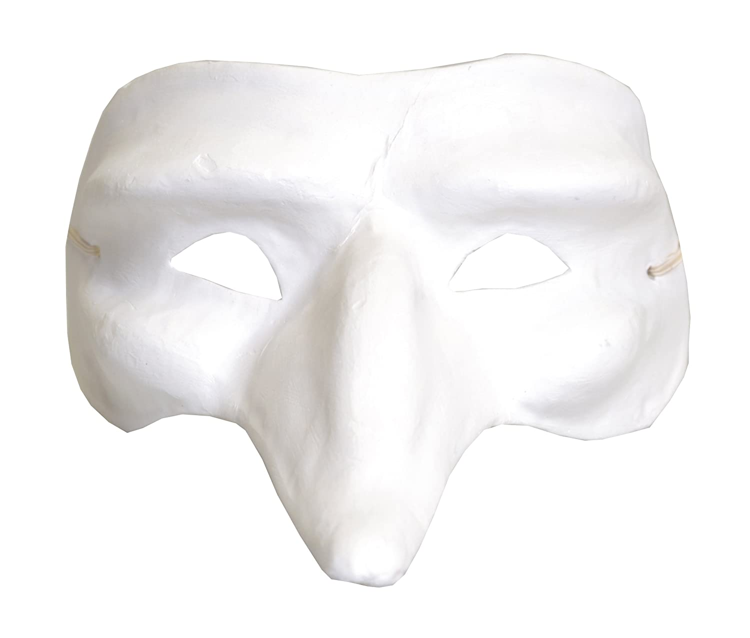 Artemio Long Hooked Nose Plaster Mask to Decorate 14030016