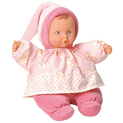 Corolle Babicorolle Babipouce Pink Cotton Flower Doll: Toys & Games