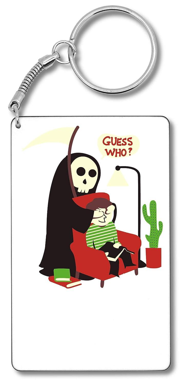 Guess Who ? Llavero Llavero: Amazon.es: Equipaje