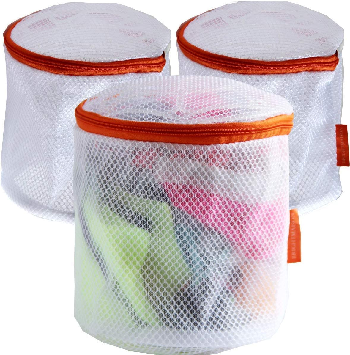 Delicate Set of Larger 3 Laundry Bra Washing Bags, Premium Quality: Lingerie Bags for Laundry,Bra, Hosiery, Stocking, Underwear & Lingerie and for More Washing Bag Set