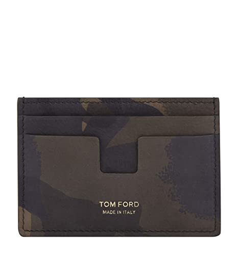 Tom Ford Camouflage-print Nubuck Cardholder Outlet Best Store To Get High Quality Comfortable Clearance Visa Payment Cheap Countdown Package EslL5Aqqzk