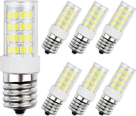 Amazon.com: DiCUNO E17 Bombilla LED, horno microondas ...
