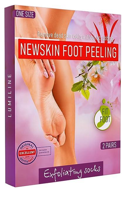 Exfoliante pies quita callos pies calcetines exfoliantes de pies ...