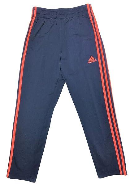 a1e1ecff17a Amazon.com: Adidas Boys Youth Athletic Training Pants (XL (18/20), Blue/Hot  Pink Stripes): Clothing