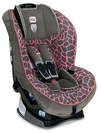 Britax Marathon G4 Convertible Car Seat Pink Giraffe Prior Model