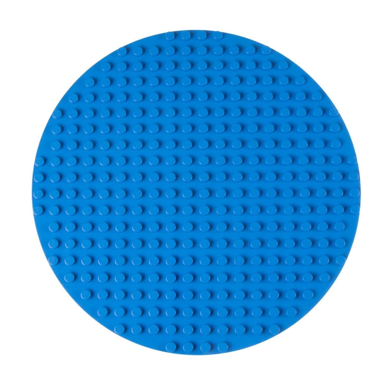 Premium-Bauplatte rund - kompatibel mit großen Bausteinen aller führenden Marken - nur für Steine mit großen Noppen geeignet - 12, 5 (31, 75 cm) Durchmesser - Magenta 5 (31 Strictly Briks