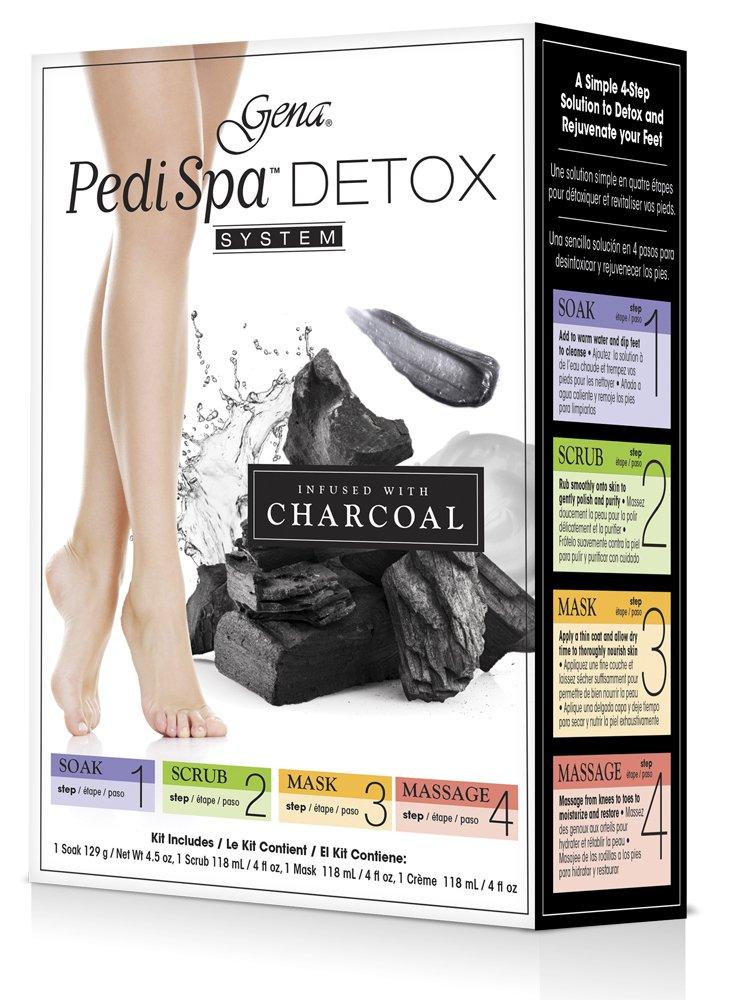 Gena Pedi Spa Detox Black Charcoal
