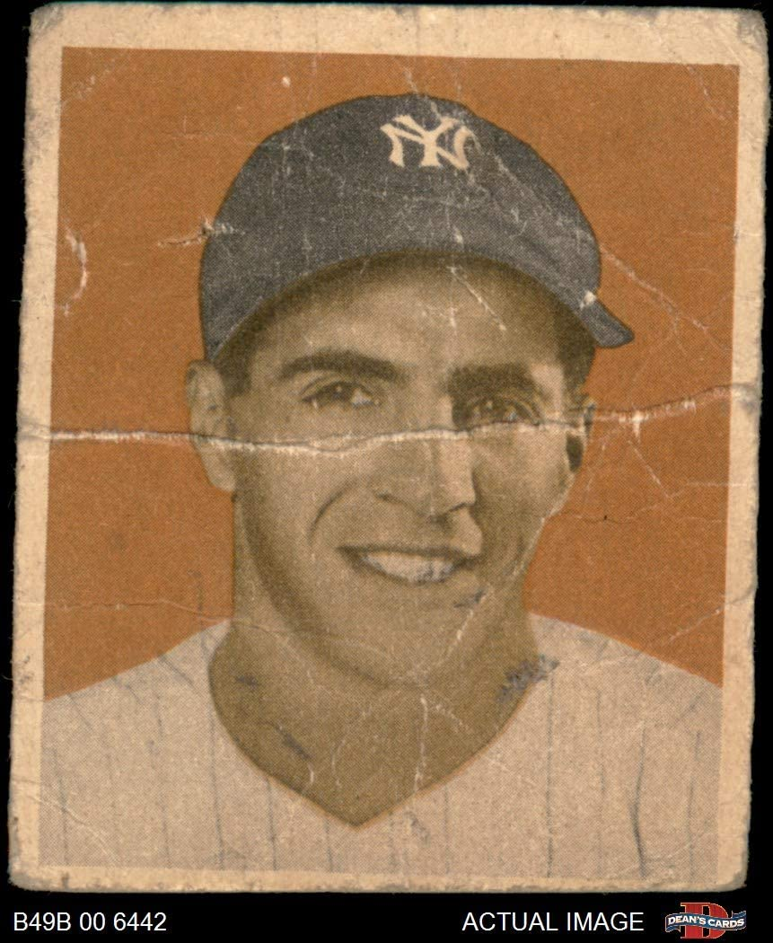 1949 Bowman # 98 NNOF Phil Rizzuto New York Yankees (Baseball Card) (No Name on Front) Dean's Cards 1 - POOR Yankees 716U2BrQkz-LSL1050_