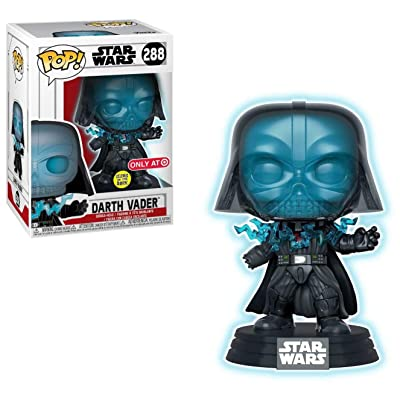 POP! Funko Glow in The Dark Electrocuted Darth V (Target Exclusive): Toys & Games