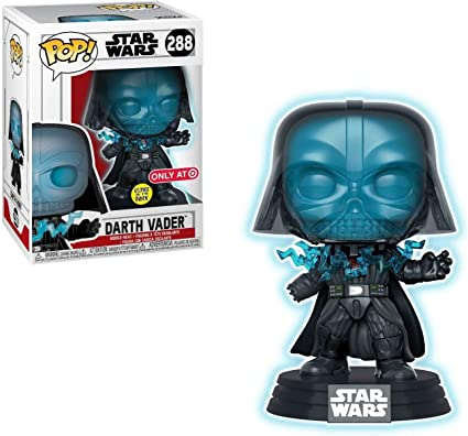 Electrocuted Glow US Exclusive Pop Vinyl Star Wars Darth Vader