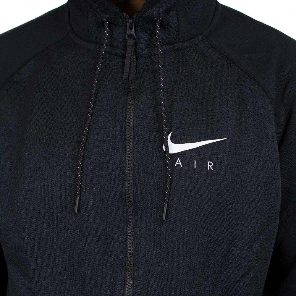 b1310151d3f8 Nike Men s Sportwear Air Hybrid Full Zip Hoodie Black White 832148-010 at  Amazon Men s Clothing store