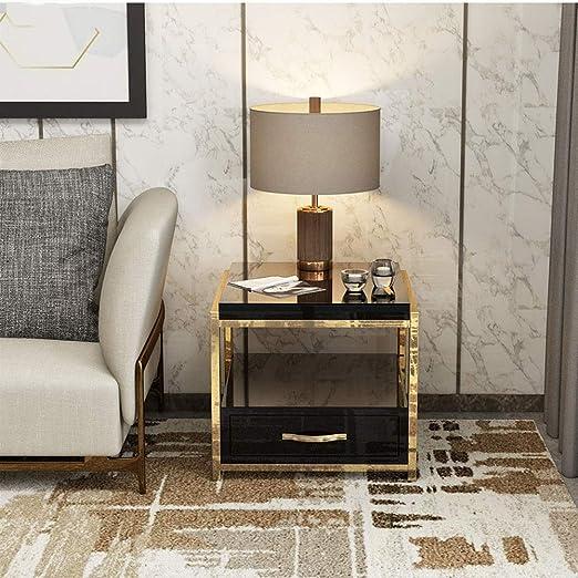 Amazoncom Bedside Table Modern Minimalist Light Luxury
