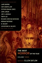 The Best Horror of the Year Volume 3 Paperback