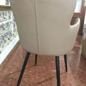 Mc Haus MARRÓN Sillon Elephant butaca diseño Safari Salon Comedor 53x45x89cm, Telas