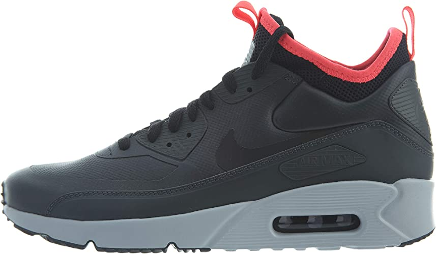 Nike Herren Air Max 90 Ultra Mid Winter Sneaker Schwarz