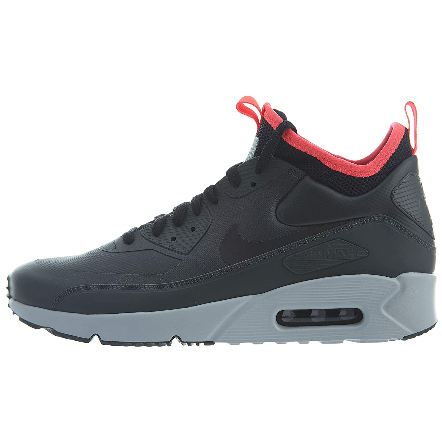 find factory outlets Nike Air Max 90 Boot Mid Suede Black