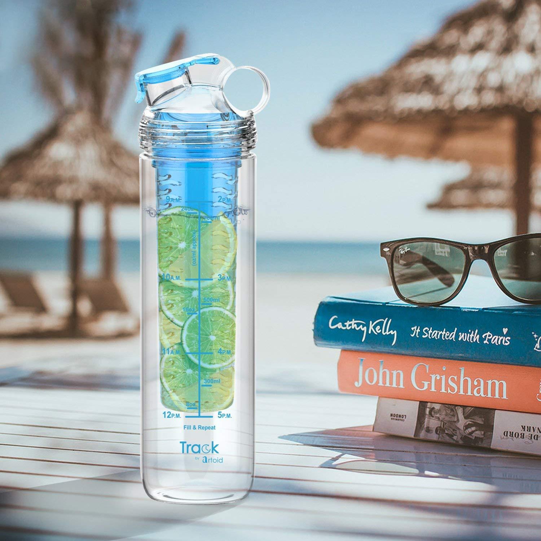 Sin BPA Muchas Opciones de Color Artoid Mode 800ml Tritan Botella de Agua con Fruta infundida de