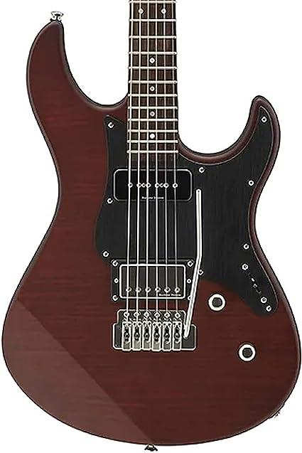 Yamaha pac611vfmx Pacifica – Guitarra eléctrica (Root Beer ...
