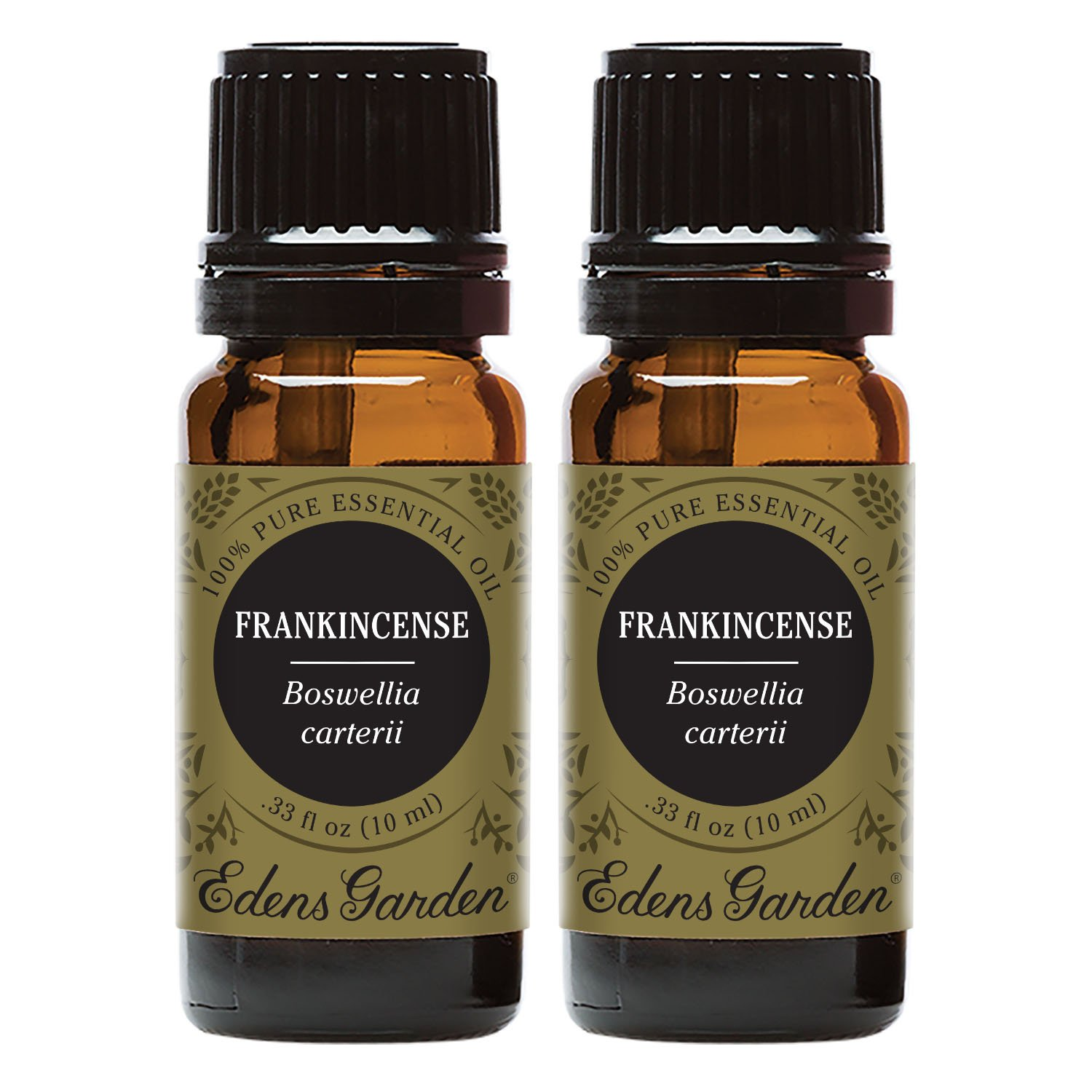 Edens Garden Frankincense Carterii Essential Oil, 100% Pure Therapeutic Grade (Inflammation & Skin Care) 10 ml Value Pack