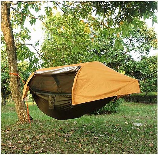 JXS-outdoor Hamaca para Acampar con mosquitera y cobertor para ...