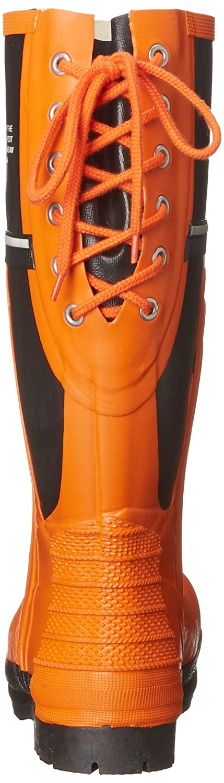 Viking Footwear Class 2 Chainsaw Boot,Orange//Black,6 M US