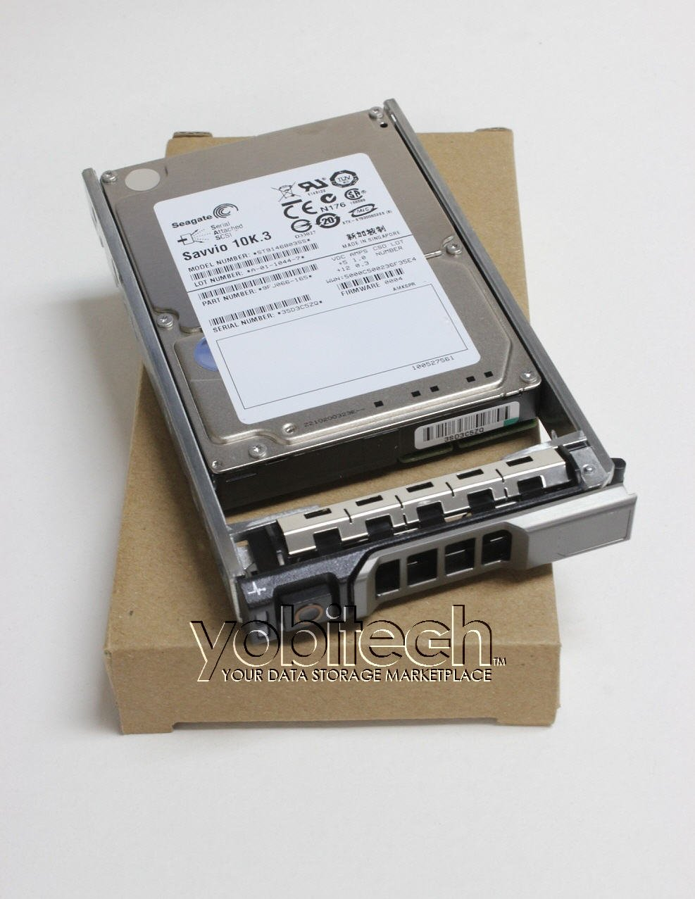 Dell - 300GB 15K SAS 6Gb/s 2.5'' HD - Mfg# NWH7V (Comes with drive and tray)