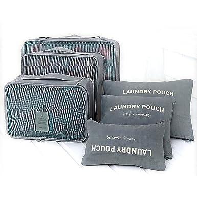 Amazon.com: wkby 6pcs bolsas de almacenamiento de la ropa ...